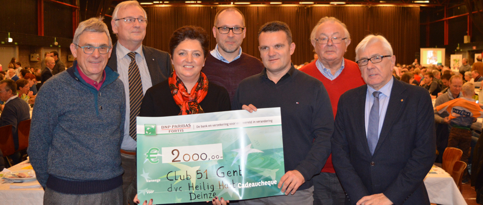 Fifty-One Club Gent : steun voor sociale projecten